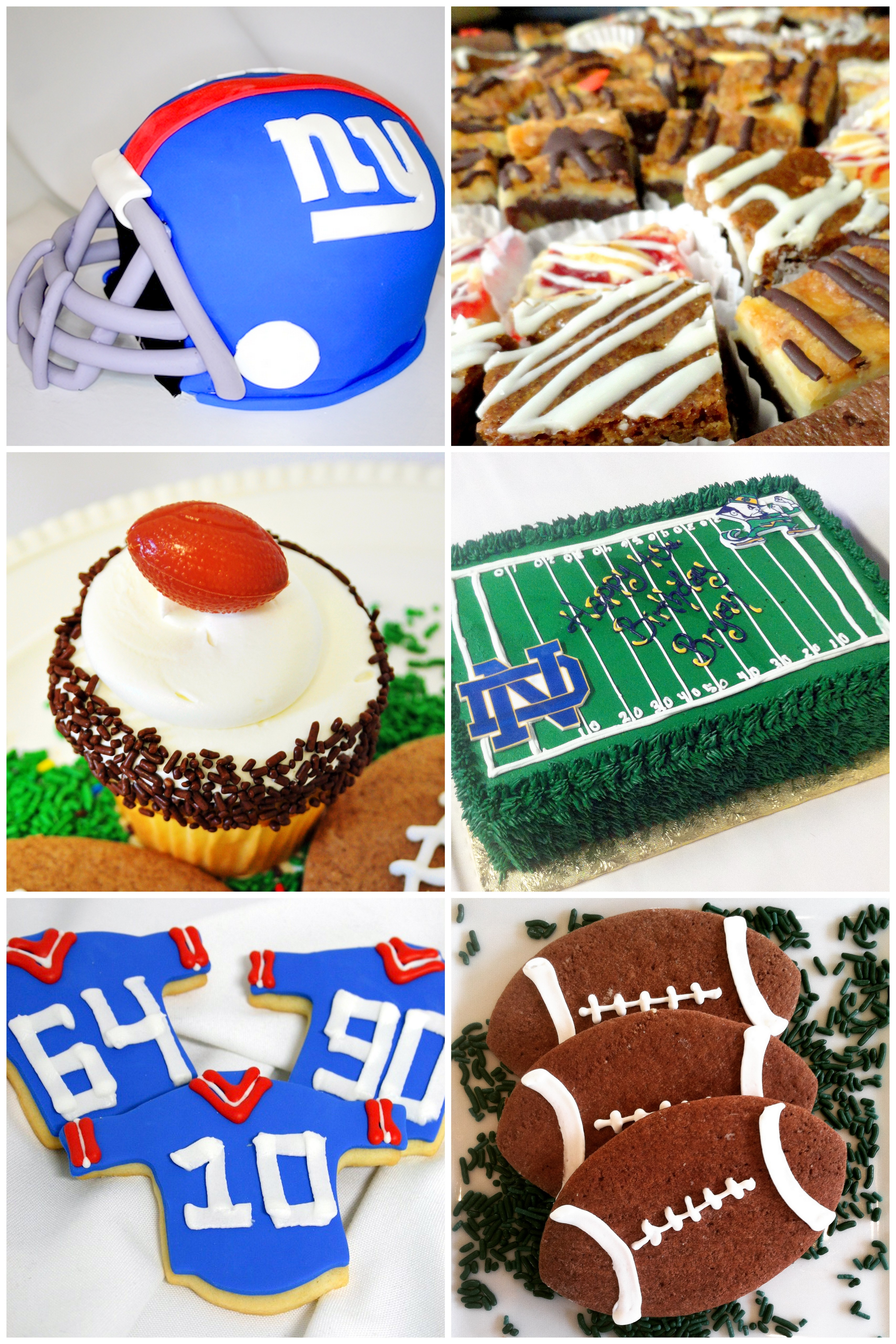 GAME DAY SUPERBOWL DESSERTS, FOOTBALL, SUSSEX COUNTY SPARTA NJ
