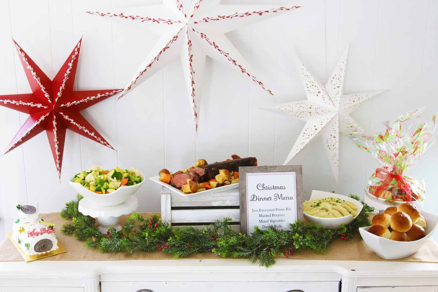 Complete Holiday Dinners provided by Pierrot Catering in Sparta Sussex County NJ