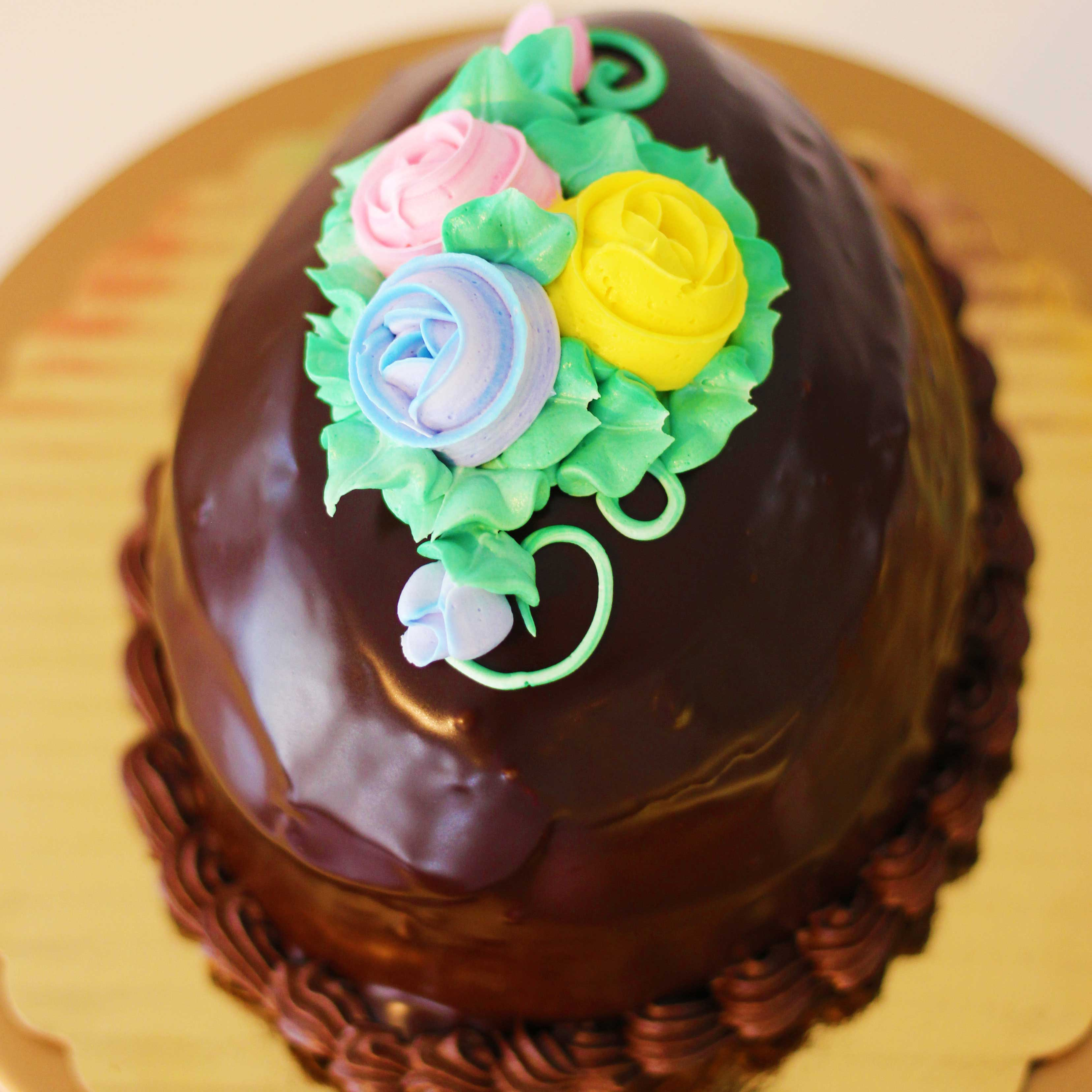 Chocolate Easter Egg by French Bakery and Restaurant in Northern New Jersey