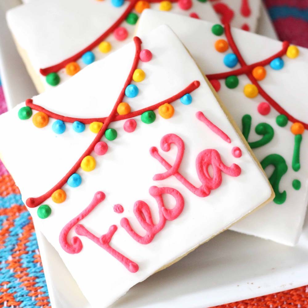 fiesta cookies for cinco de mayo, taco tuesday at cafe pierrot in northern new jersey