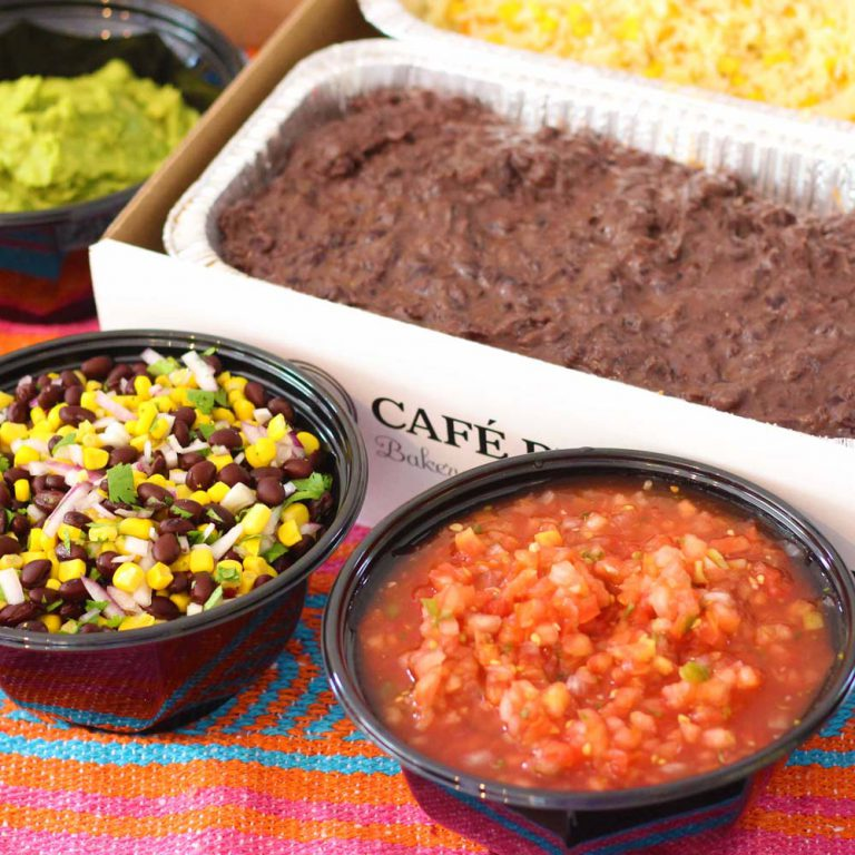 taco tuesday cinco de mayo office lunch catering by cafe pierrot in northern new jersey