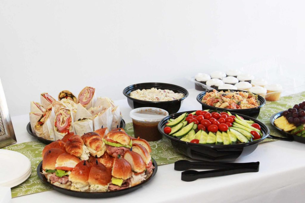 Luncheon Catering delivery, pickup in Sussex County NJ Morris