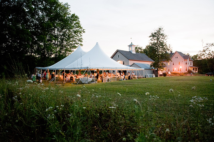 Raritan Inn has a beautiful backyard for a tent and makes a beautiful wedding venue